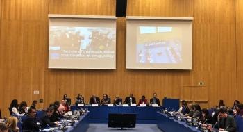 Evento Paralelo COPOLAD en la 62ª CND 2019: El papel de la coordinación en la política de drogas: historias de éxito en el marco de COPOLAD II