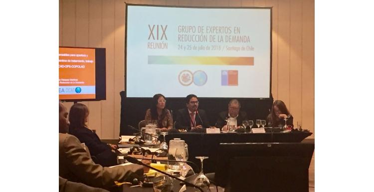 XIX Reunión del Grupo de Expertos en Reducción de la Demanda (CICAD-OEA)