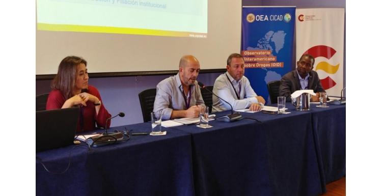 Taller para Fortalecer los Observatorios Nacionales de Drogas en América Latina