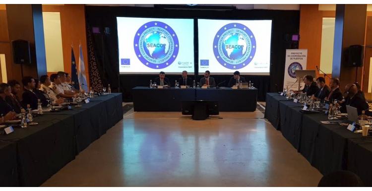 II Taller Regional de Unidades de Inteligencia Marítima del Proyecto SEACOP en América Latina