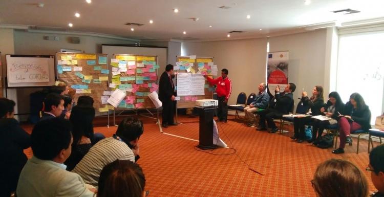 Actividades de aprendizaje horizontal en Desarrollo Alternativo
