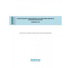 Argentina: Estudio nacional sobre consumo de sustancias psicoactivas en población de 12 a 65 años