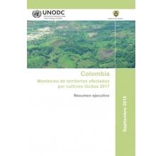 Colombia: Monitoreo de territorios afectados por cultivos ilícitos 2017