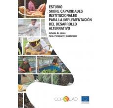 Estudio sobre capacidades institucionales para la implementación del desarrollo alternativo