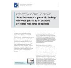 Salas de consumo supervisado de droga:  una visión general de los servicios   prestados y los datos disponibles