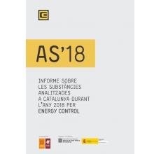 Informe sobre les substàncies analitzades a Catalunya durant l'any 2018 per Energy Control