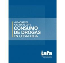 VI Encuesta Nacional 2015 Consumo de Drogas en Costa Rica