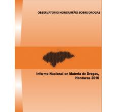 Honduras: Informe Nacional en Materia de Drogas 2016