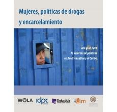 Mujeres, políticas de drogas  y encarcelamiento