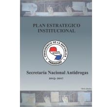 SENAD. Plan Estratégico Institucional. 2013-2017