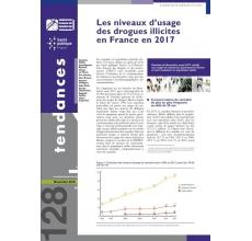 Les niveaux d'usage des drogues illicites en France en 2017