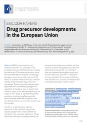 Drug precursor developments in the European Union