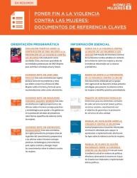 Poner fin a la violencia contra las mujeres: Documentos de referencia claves