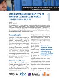 ¿Cómo incorporar una perspectiva de género en las políticas de drogas? La experiencia de Uruguay