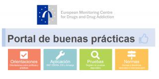Portal de buenas prácticas del EMCDDA